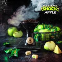 Табак Burn BLACK Apple Shock (Кислое яблоко), 100 г